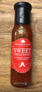Sweet Chilli Sauce with red chillies and garlic