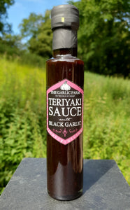 Teriyaki Sauce with Black Garlic