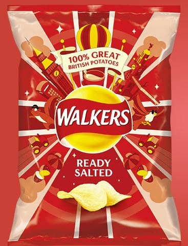 Walkers Ready Salted  65g