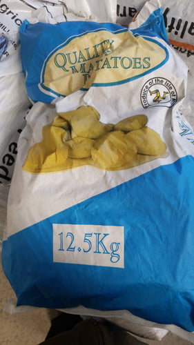 Manx Quality Potatoes 12.5kg
