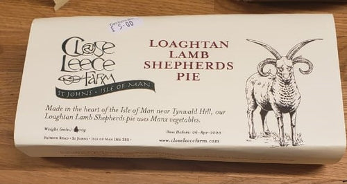 Close Leece Farm Loaghtan Lamb Shepherds pie