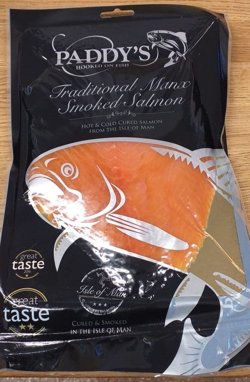Paddy's Traditional Manx Smoked Salmon 227g