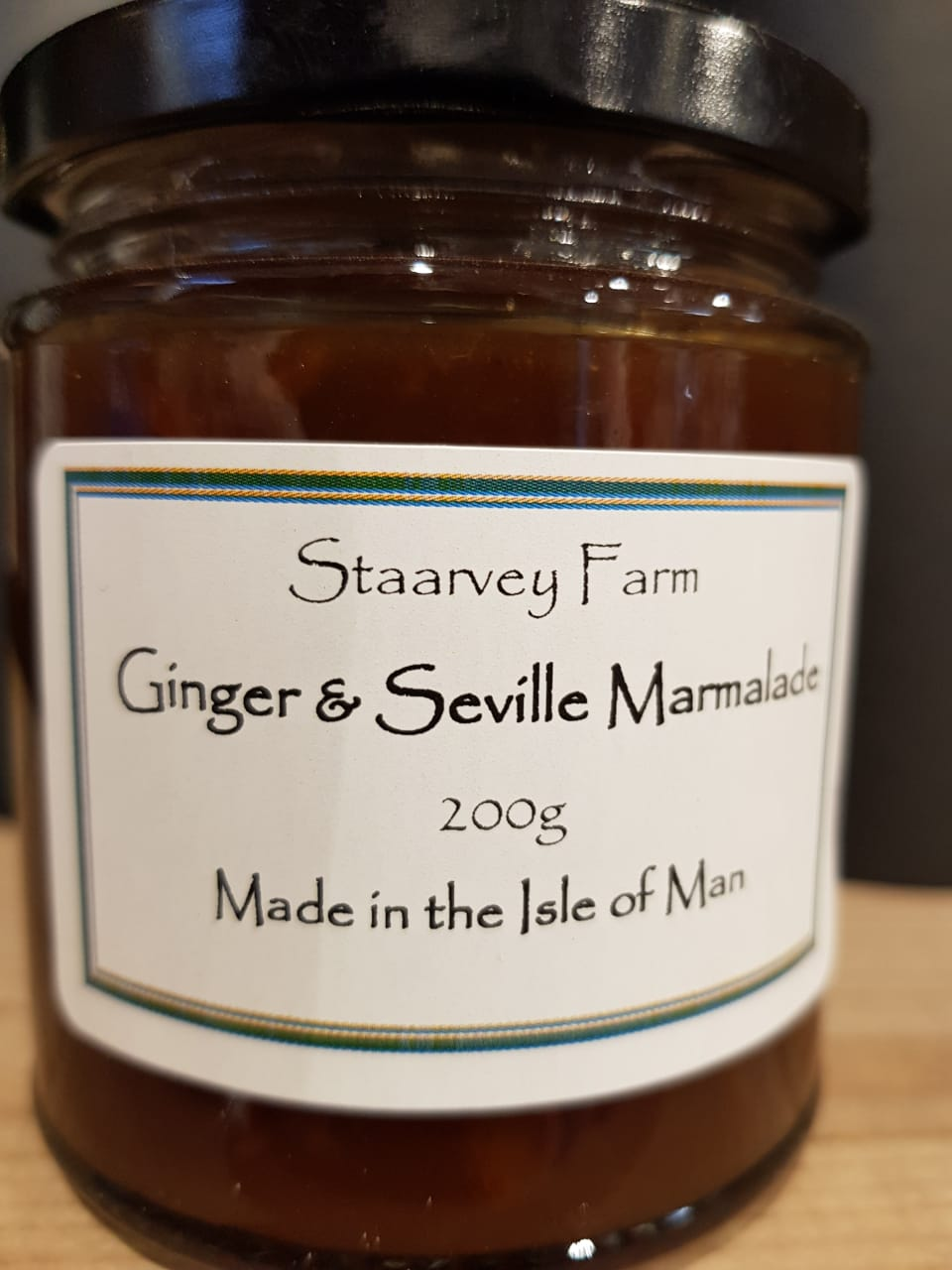 Staarvey Farm Ginger & Seville Marmalade