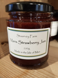 Staarvey Farm Manx Strawberry Jam