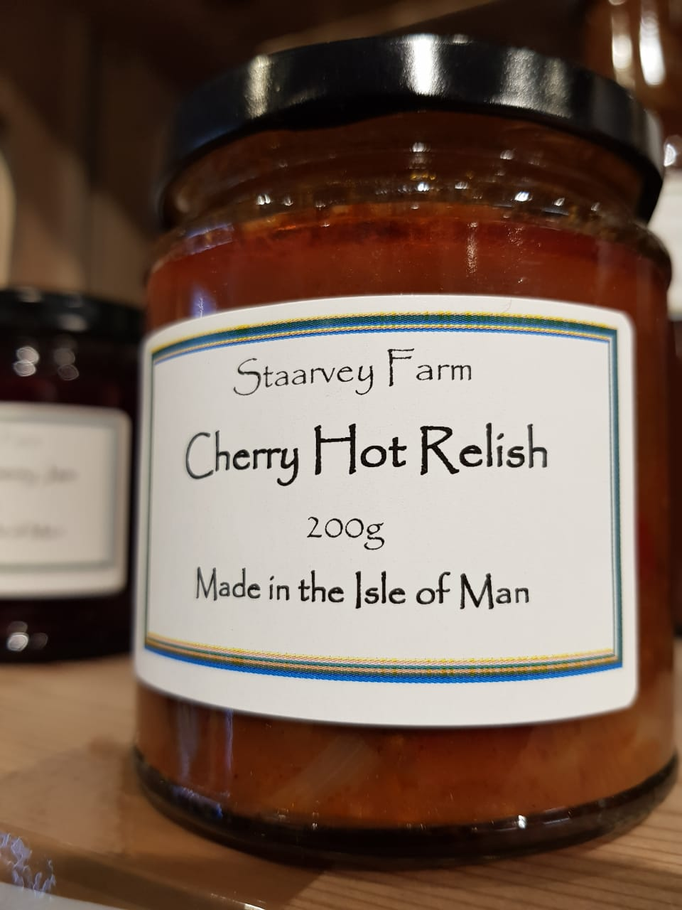 Staarvey Farm Cherry Hot Relish