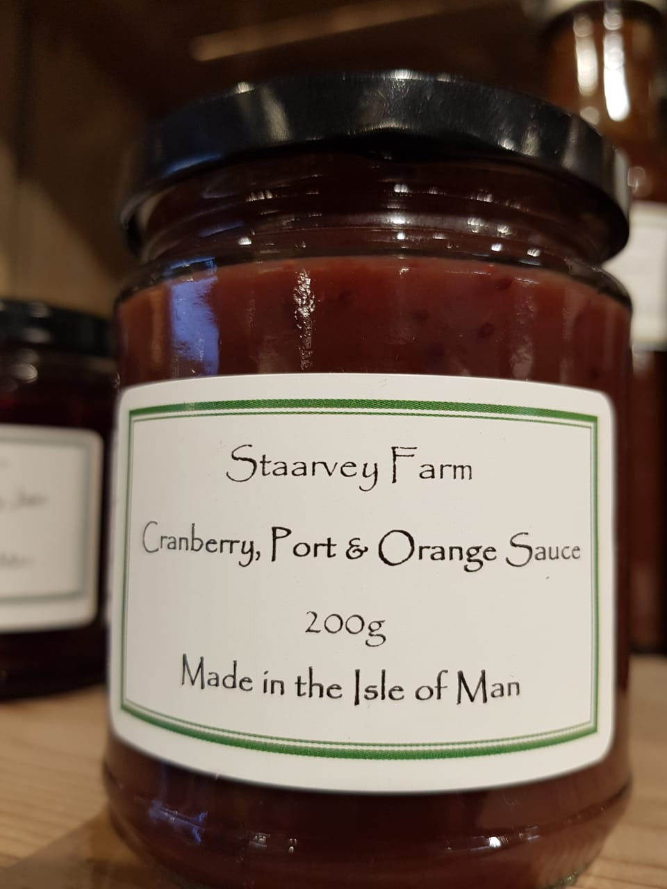 Staarvey Farm Cranberry, Port and Orange Sauce