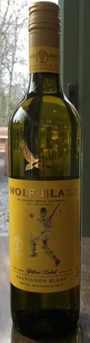 Wolf Blass Yellow Label Sauvignon Blanc 75cl