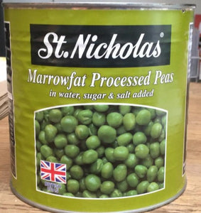 Marrowfat processed peas 2.6kg tin
