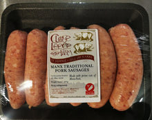 Traditional Manx Pork Sausages - available in IOM ONLY