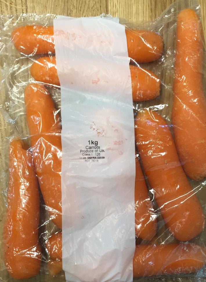 Bag of carrots 1kg