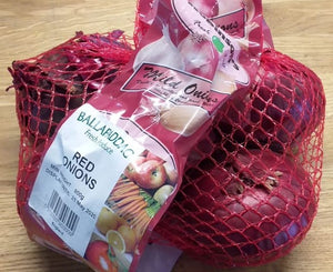 Onions - net of red - 800g