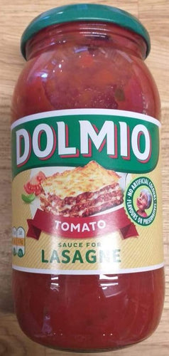 Dolmio sauce for Lasagne  470g
