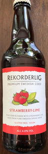 Rekorderlig premium Swedish Cider - Strawberry-Lime - 500ml