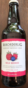 Rekorderlig premium Swedish Cider - Wild Berries - 500ml