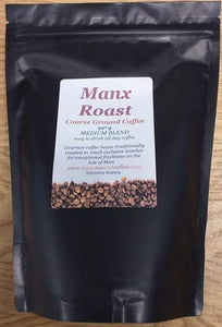 Manx Roast Coarse Ground Medium Blend Coffee 227g