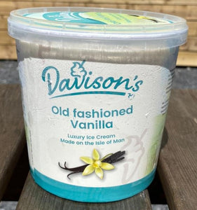 Davisons's Old fashioned Vanilla ice cream