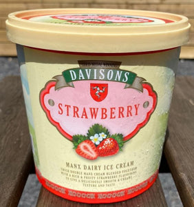 Davisons's Strawberry ice cream