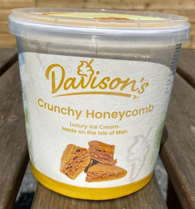 Davisons's Crunchy Honeycomb ice cream