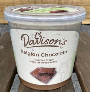 Davisons's Luxury Belgian Chocolate ice cream