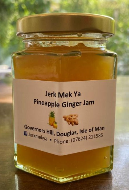 Jerk Mek Ya - Pineapple Ginger jam   227g