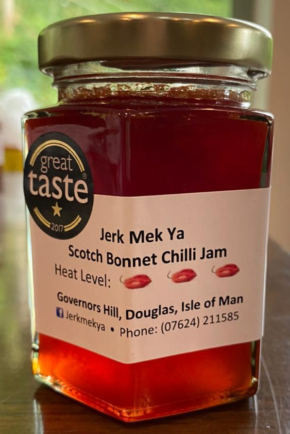 Jerk Mek Ya - Hot Scotch Bonnet Chilli jam 227g