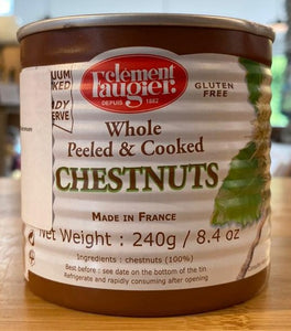 Chestnuts - While peeled and cooked - 240g