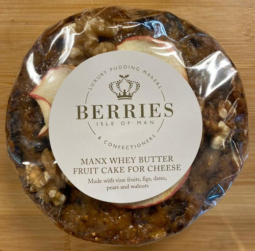 Berries Manx whey butter fruit cake for cheese
