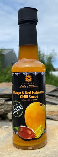Leela's Kitchen -  Mango and Red Habanero Chilli Sauce
