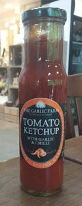 Tomato Ketchup with Garlic and Chilli
