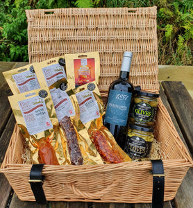 Charcuterie and Red Wine Hamper
