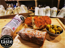 Manx Nduja, a fine example of British Charcuterie, a Great Taste Award winner.