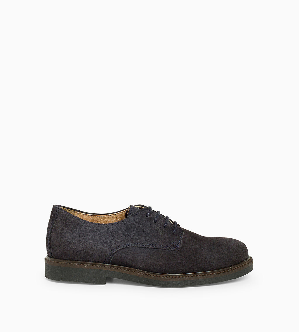 Blucher Oxford Serraje Marino - Ganzitos