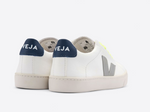 Zapatilla Esplar Extra White Oxford Grey Jaune Fluo