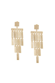 Mini Square Drop Earrings | OROSHE