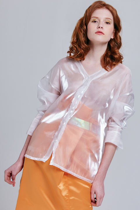 Adalyn Translucent Shirt | OROSHE
