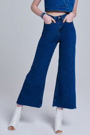 Agnes Flare Denim Pants | OROSHE