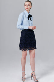 Alice Lace Mini Skirt | OROSHE