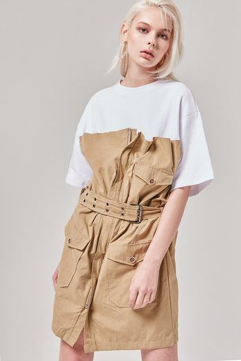 Attached T-Shirt Dress | OROSHE