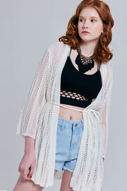 Blair Open Front Knit Cardigan | OROSHE