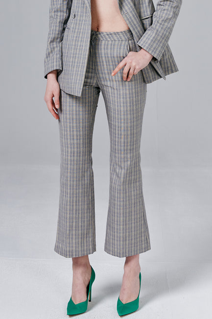Blake Glen Plaid Flare Pants
