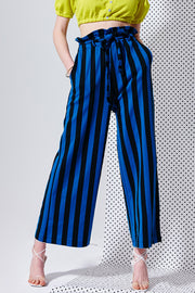 Camila Striped Wide Leg Pants | OROSHE