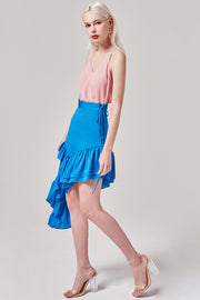 Cecilia Satin Feel Skirt | OROSHE