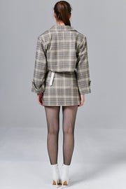 Rachel Plaid Skirt