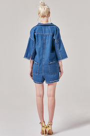 Denim Jumpsuit | OROSHE