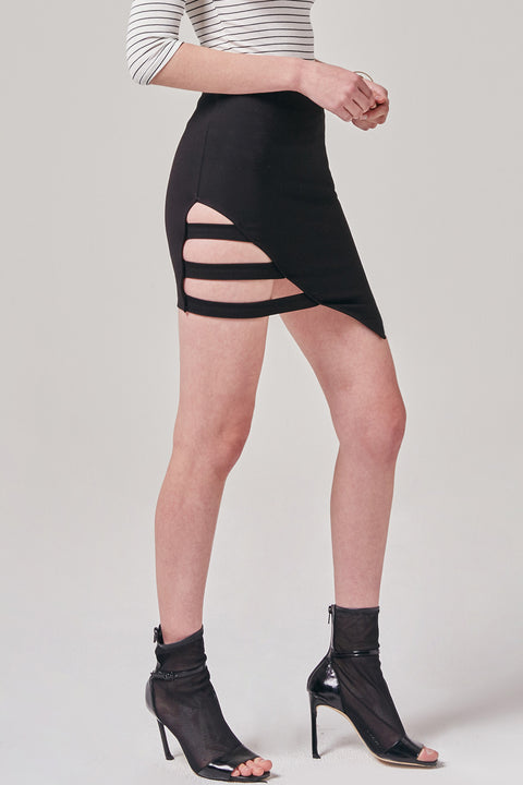 Edgy Pencil Skirt | OROSHE