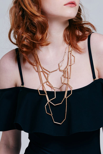 Geometric Necklace | OROSHE