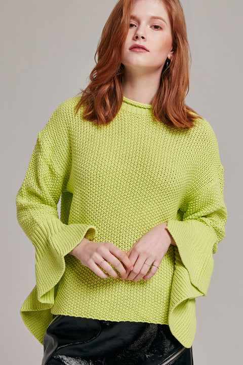 Elizabeth Unique Sleeve Sweater | OROSHE