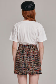 Coco Tweed Mini Skirt | Oroshe