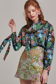 Hilary Floral Blouse | OROSHE