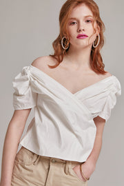 Julia Wrap Front Top | OROSHE